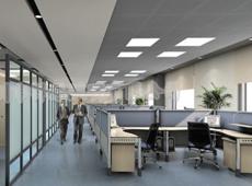 办公楼LED灯照明