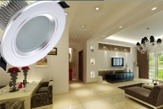 LED筒灯用在家装会怎么样?